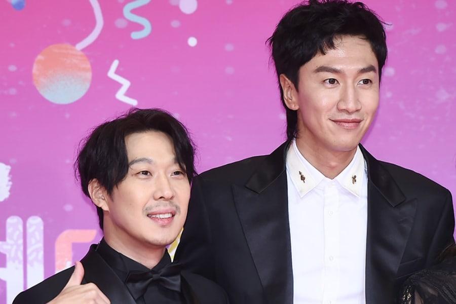 Lee Sang Yeob Says Lee Kwang Soo Is His Role Model | Soompi