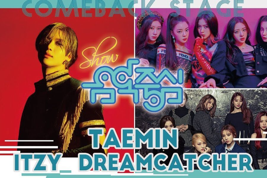 """Watch Live: SHINee's Taemin, ITZY, DreamCatcher, And More Perform On """"Music Core"""""""