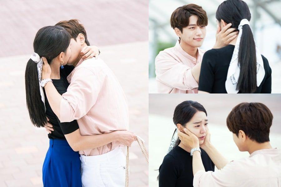 "INFINITE's L And Shin Hye Sun Beautifully Lock Lips In ""Angel's Last Mission: Love"""