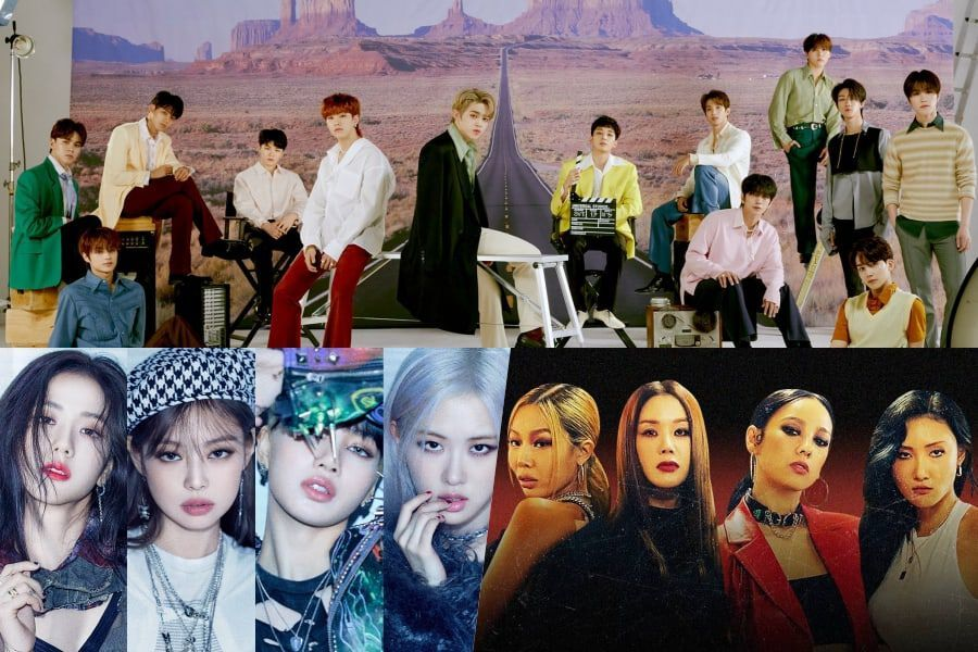 SEVENTEEN, BLACKPINK, And Refund Sisters Top Gaon Weekly Charts