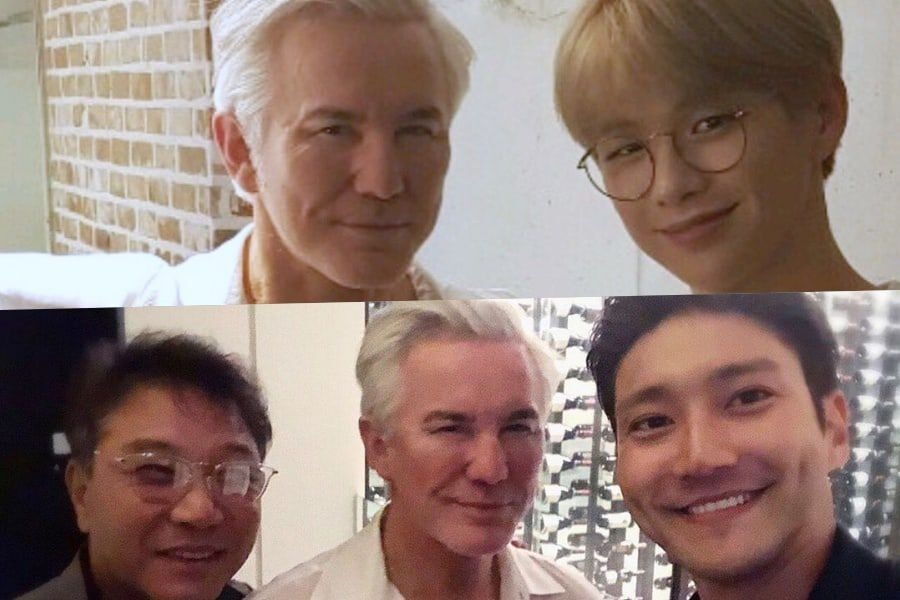 Director Baz Luhrmann Spends Time With Kang Daniel, Choi Siwon, And Lee Soo Man In Seoul