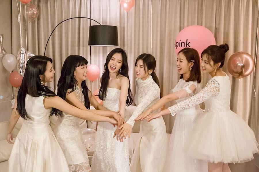 Apink Expresses Love And Gratitude To Fans And Each Other On 8th Debut Anniversary