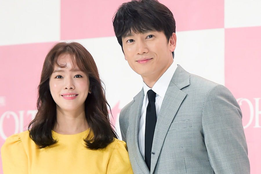"""""""Familiar Wife"""" Bond Remains Strong As Ji Sung Shows Support For Han Ji Min And """"One Spring Night"""""""