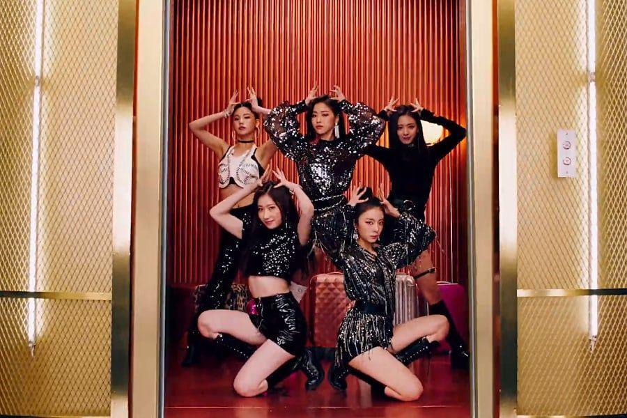 ITZY akhirnya merilis MV debutnya yang berjudul DALLA DALLA (dok. JYP Entertainment)