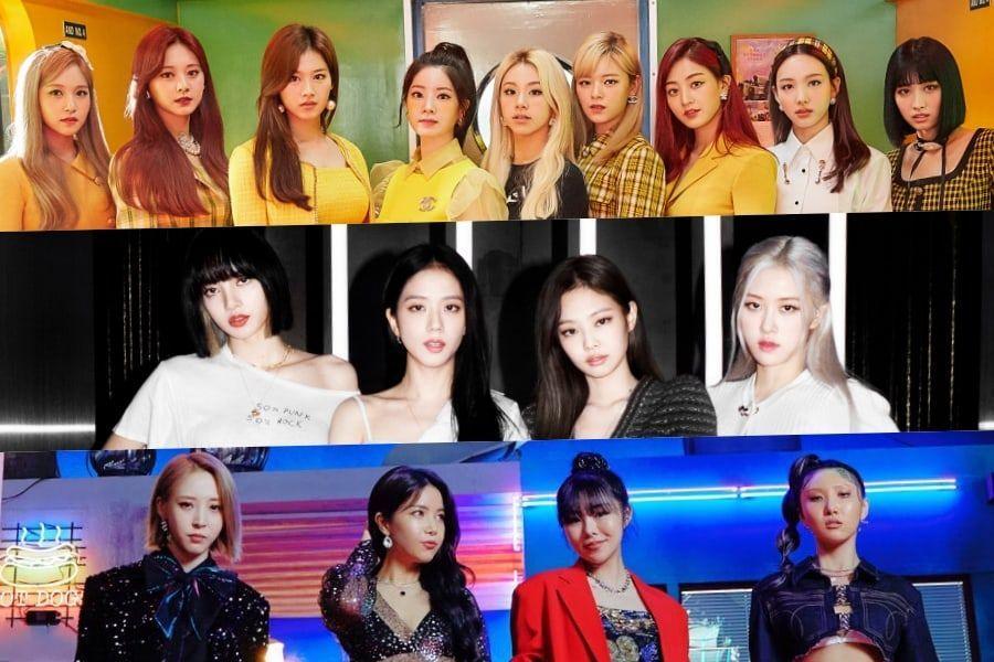 November Girl Group Brand Reputation Rankings Announced