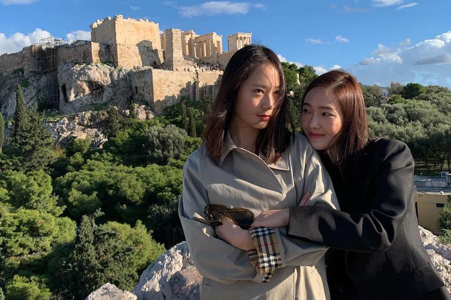 Krystal And Jessica Share Photos From Their European Travels Together