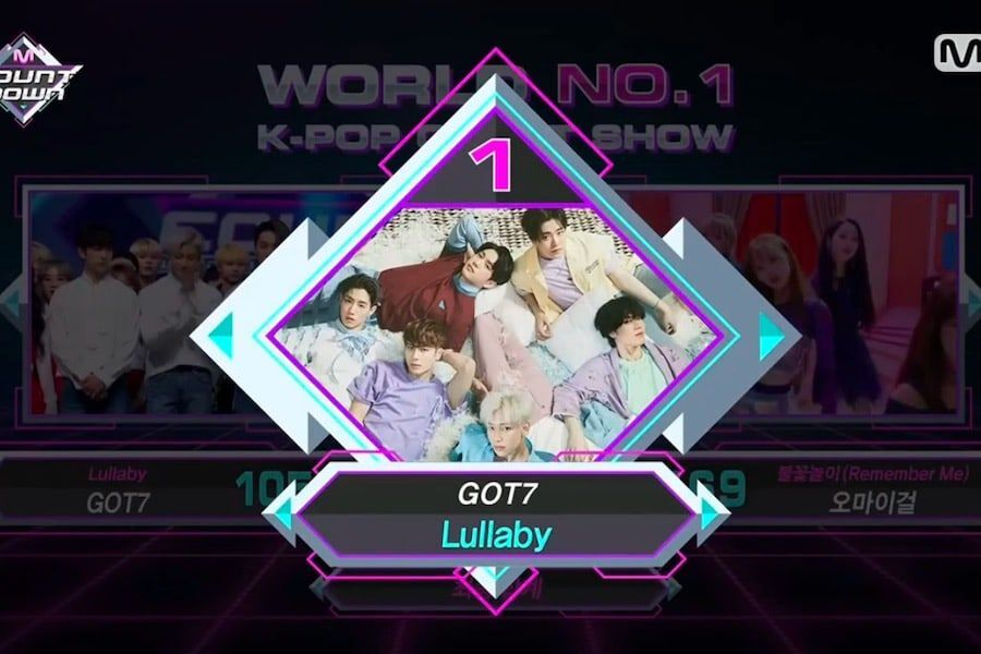 """Watch: GOT7 Grabs 6th Win For """"Lullaby"""" On """"M!Countdown,"""" Performances By Soyou, DAY6, Oh My Girl, And More"""