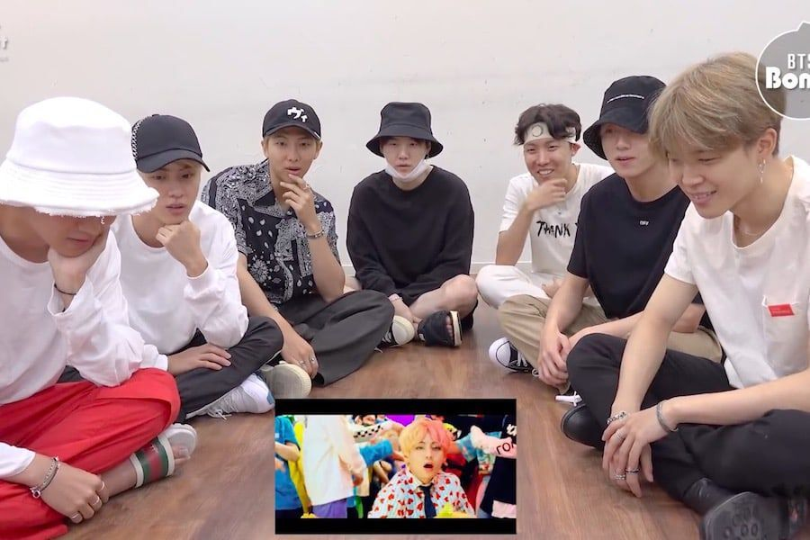 """Watch: BTS Is So Relatable As They React To Amazing """"IDOL"""" MV"""