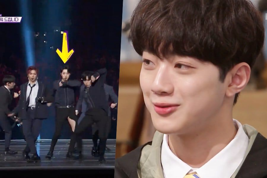 Lai Kuanlin Talks About His Wardrobe Malfunction During Wanna One's Performance At 2018 MAMA In Japan