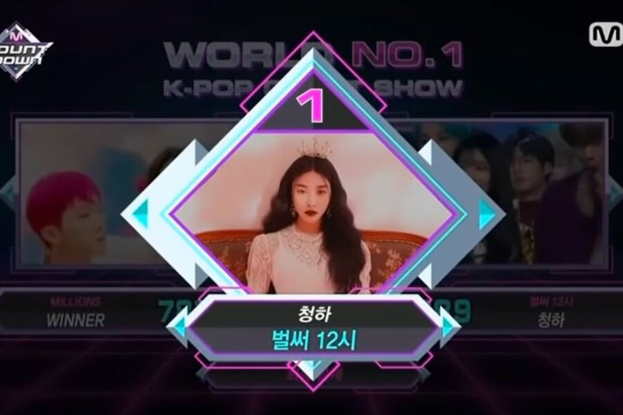 """Watch: Chungha Takes 2nd Win For """"Gotta Go"""" On """"M Countdown""""; Performances By Apink, WJSN, And More"""