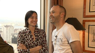 Iniesta TV: Interviews Episode 7: Conversations with Celebrities #2 First Interview with Anna, Iniesta's Wife (Second part)