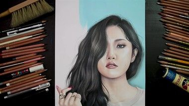 Drawing Hands Episode 87: Speed Drawing MAMAMOO's Hwasa