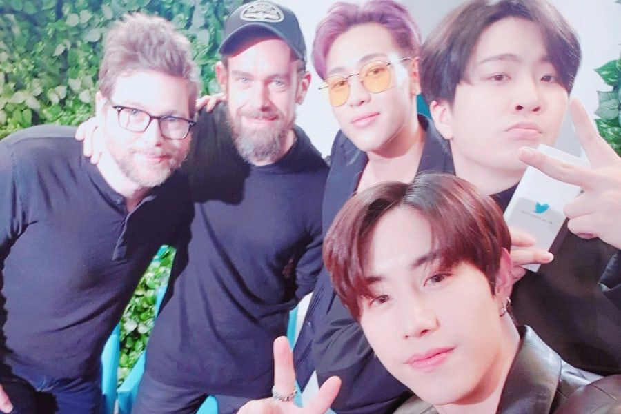 Twitter CEO Talks About K-Pop's Effect On Twitter And Meets With GOT7's BamBam, Youngjae, And Mark