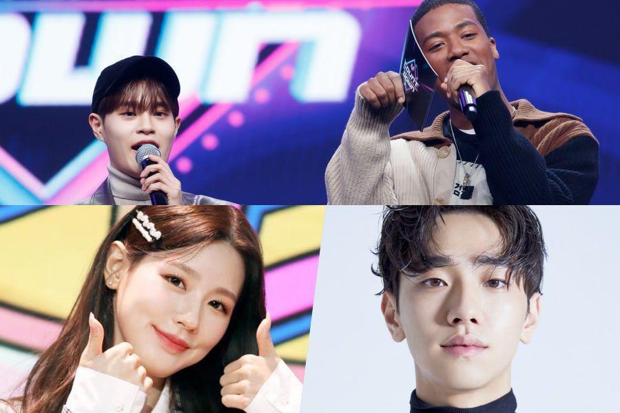 """Lee Dae Hwi de AB6IX y Han Hyun Min dejan """"M Countdown"""" + Miyeon de (G)I-DLE y Nam Yoon Su asumen el cargo de nuevos presentadores"""