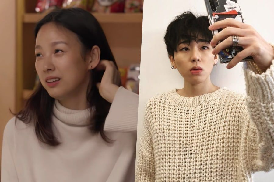 """Lee Hyori Tells Story Behind Her Viral """"Any Song"""" Challenge + Reacts To Message From Block B's Zico"""