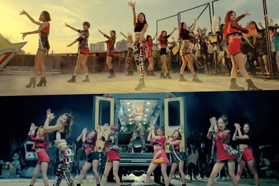 """TWICE's """"Like OOH-AHH"""" Becomes Their 6th MV To Hit 400 Million Views"""