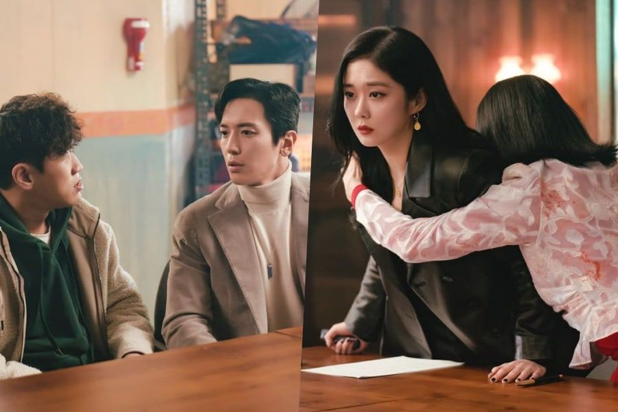"""Jang Nara Officially Begins Chaotic Partnership With CNBLUE's Jung Yong Hwa In """"Sell Your Haunted House"""""""