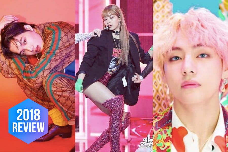 Top K-Pop Fashion Trends Celebs Rocked In 2018 | Soompi