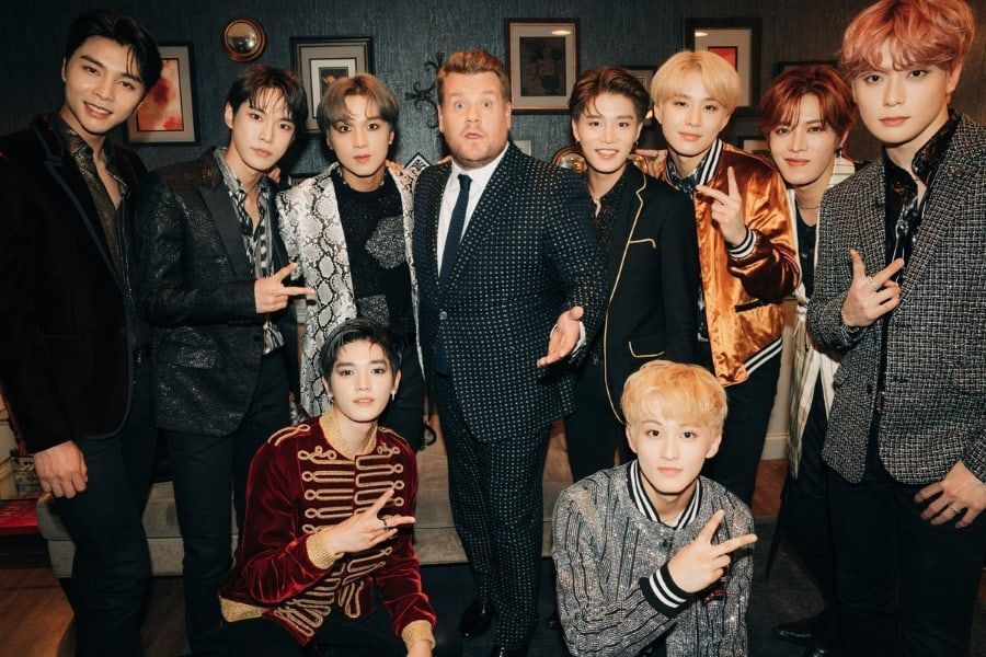 "NCT 127 interpreta impecablemente ""Superhuman"" en ""The Late Late Show With James Corden"""