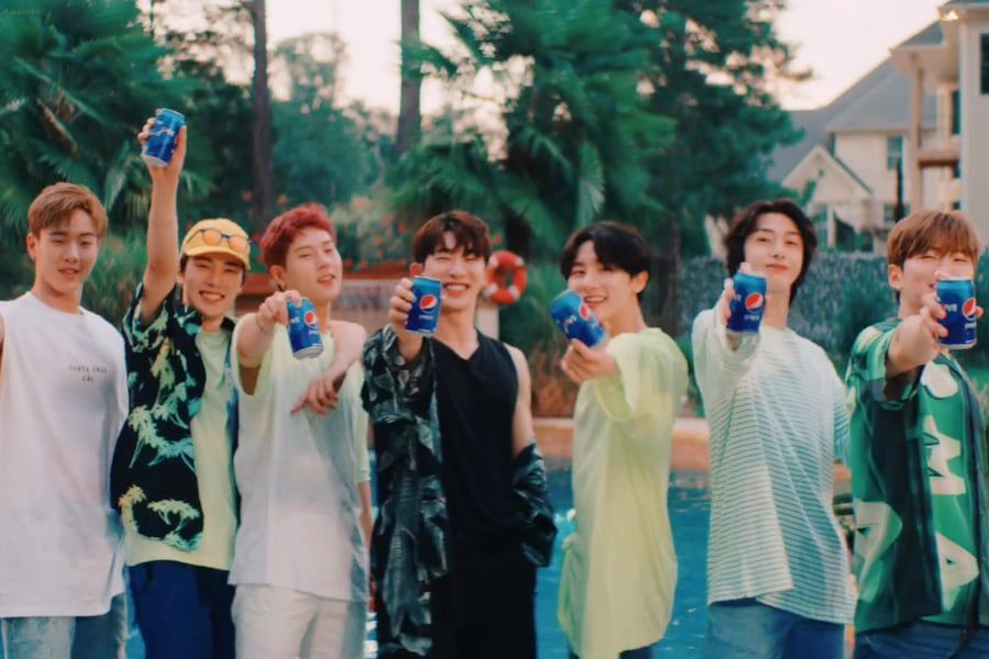 "Watch: MONSTA X Sings Korean Version Of ""Pepsi For The Love"