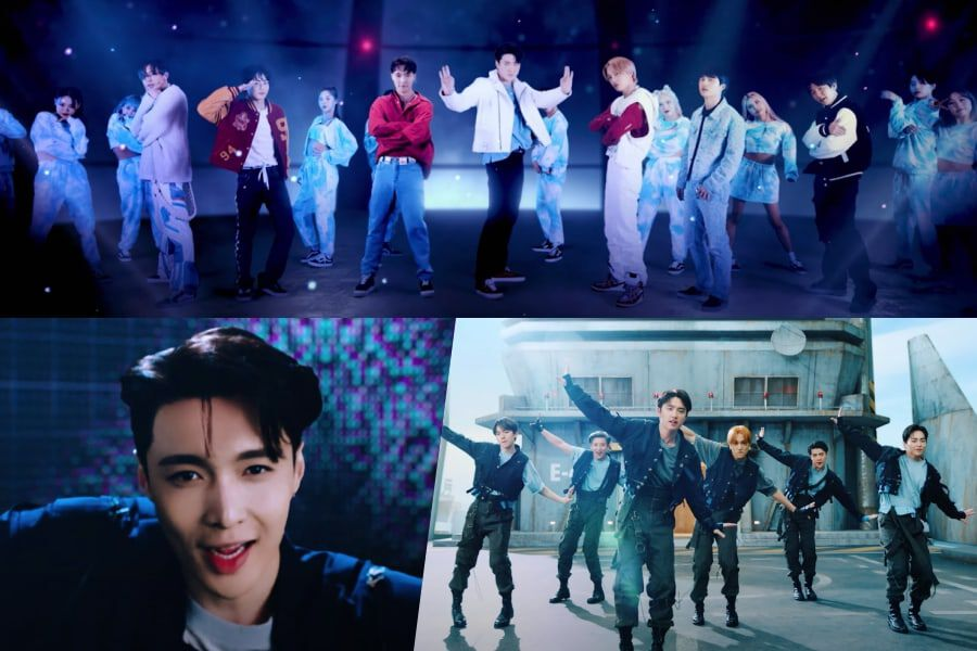"""Watch: EXO Says """"Don't Fight The Feeling"""" In Energetic Space-Inspired Comeback MV"""