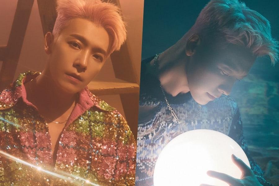 Super Junior's Donghae To Release Digital Single + Unveils Dazzling Teaser Images