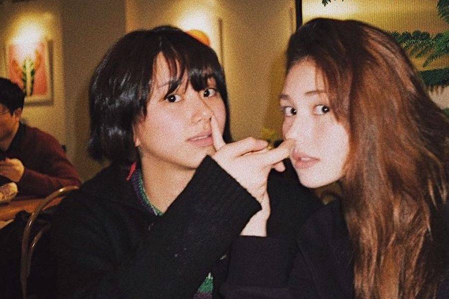 TWICE's Chaeyoung And Jeon Somi Reunite With Funny Photo