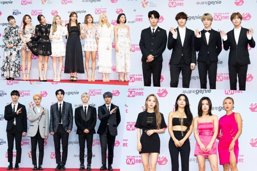 Stars Light Up The Red Carpet At The 2019 M2 X Genie Music