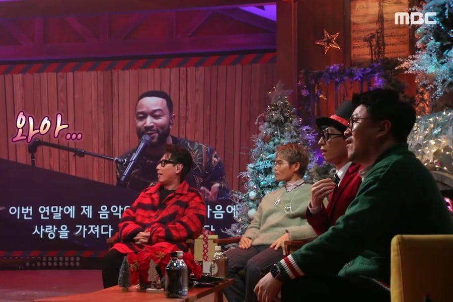 """John Legend envía un mensaje a Yoo Jae Suk y a sus fans coreanos + Interpreta """"Bring Me Love"""""""