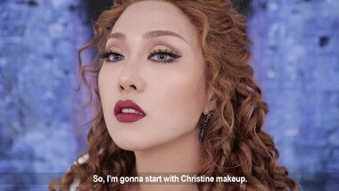 SSIN Episode 183: 'The Phantom of the Opera' Christine Makeup Tutorial