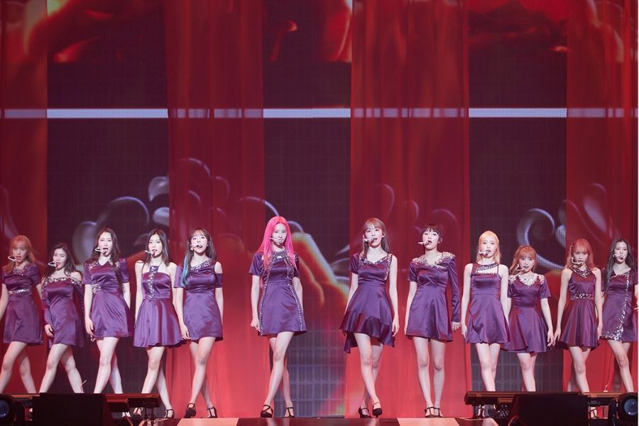 Exclusive: IZ*ONE Have Fans' Eyes On Them At Their