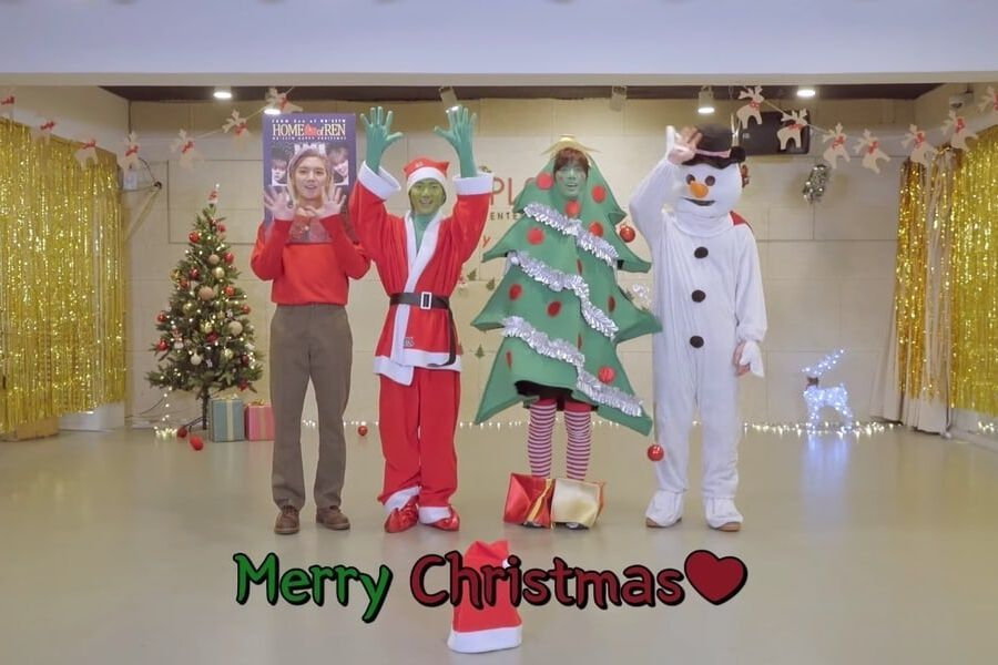 Watch: NU'EST W Keeps Music Show Win Promise With Hilariously Festive Dance Practice Video