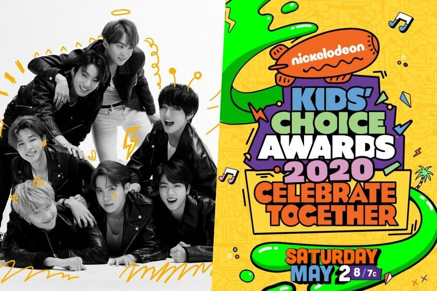BTS Joins Star-Studded Lineup For Virtual Broadcast Of Nickelodeon Kids' Choice Awards
