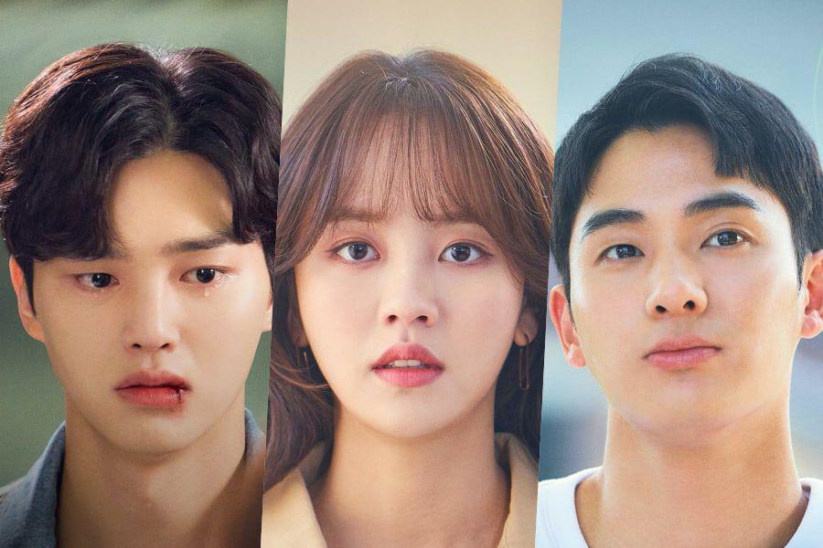 """Song Kang, Kim So Hyun, And Jung Ga Ram Tease An Unpredictable Romance In """"Love  Alarm"""" Season 2 Posters - Exciting New Webseries Releasing In March 2021"""