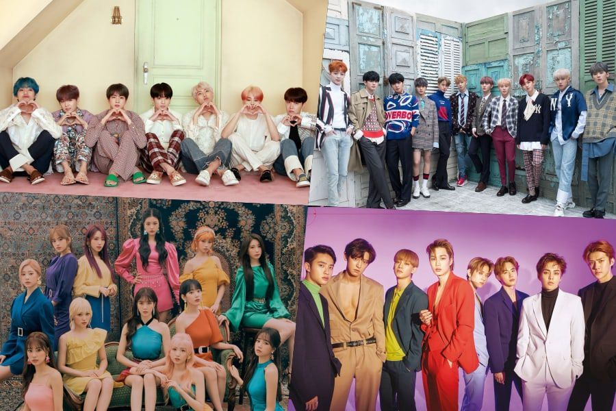 Seoul Metro Reveals List Of Idol Groups + Individuals With The Most Subway Advertisements In 2019