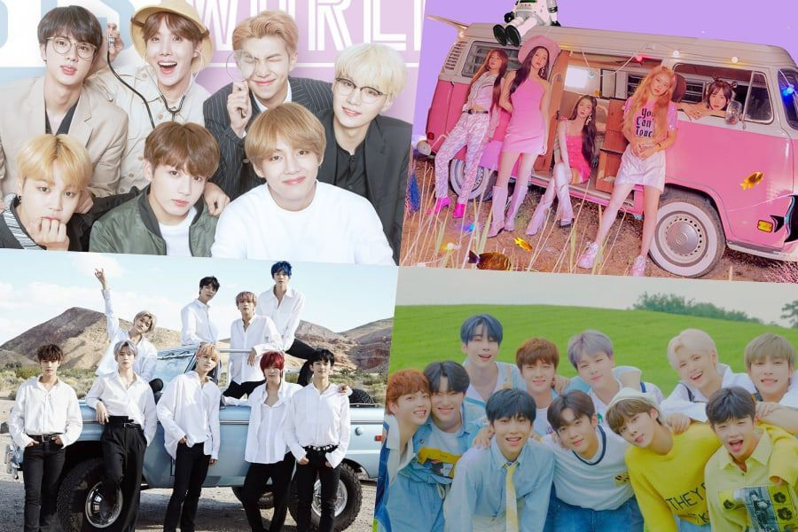 BTS, Red Velvet, NCT 127, X1, And More Score High Ranks On