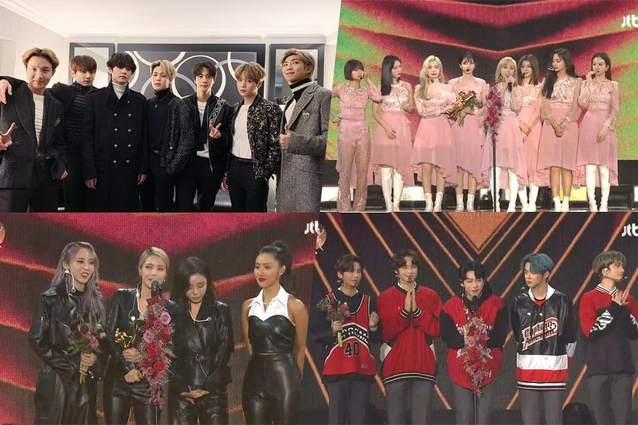 Winners Of The 34th Golden Disc Awards Day 1