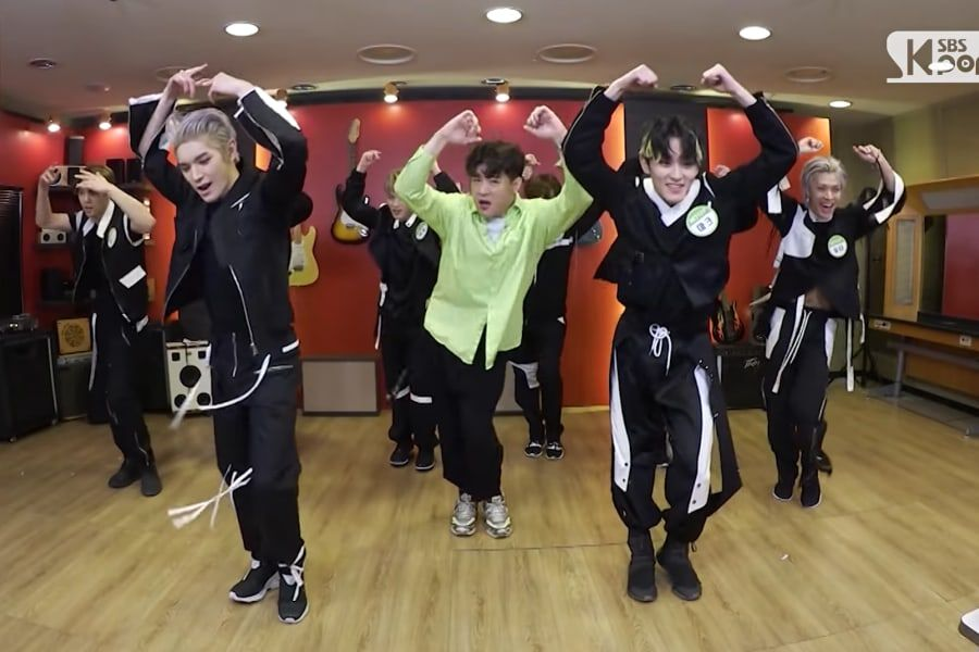 """Watch: Super Junior's Shindong Takes On The """"Kick It"""" Dance Challenge With NCT 127"""