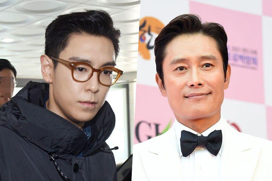 T.O.P de BIGBANG muestra cariño por Lee Byung Hun + le agradece por regalo