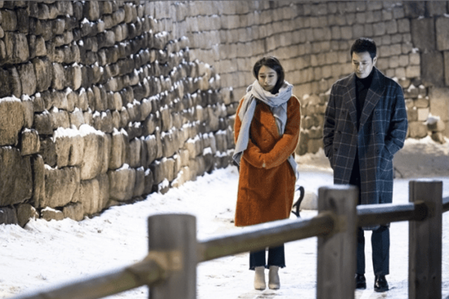 "Joo Sang Wook And Lee Min Jung Go On A Wintry Date In ""Fates And Furies"""