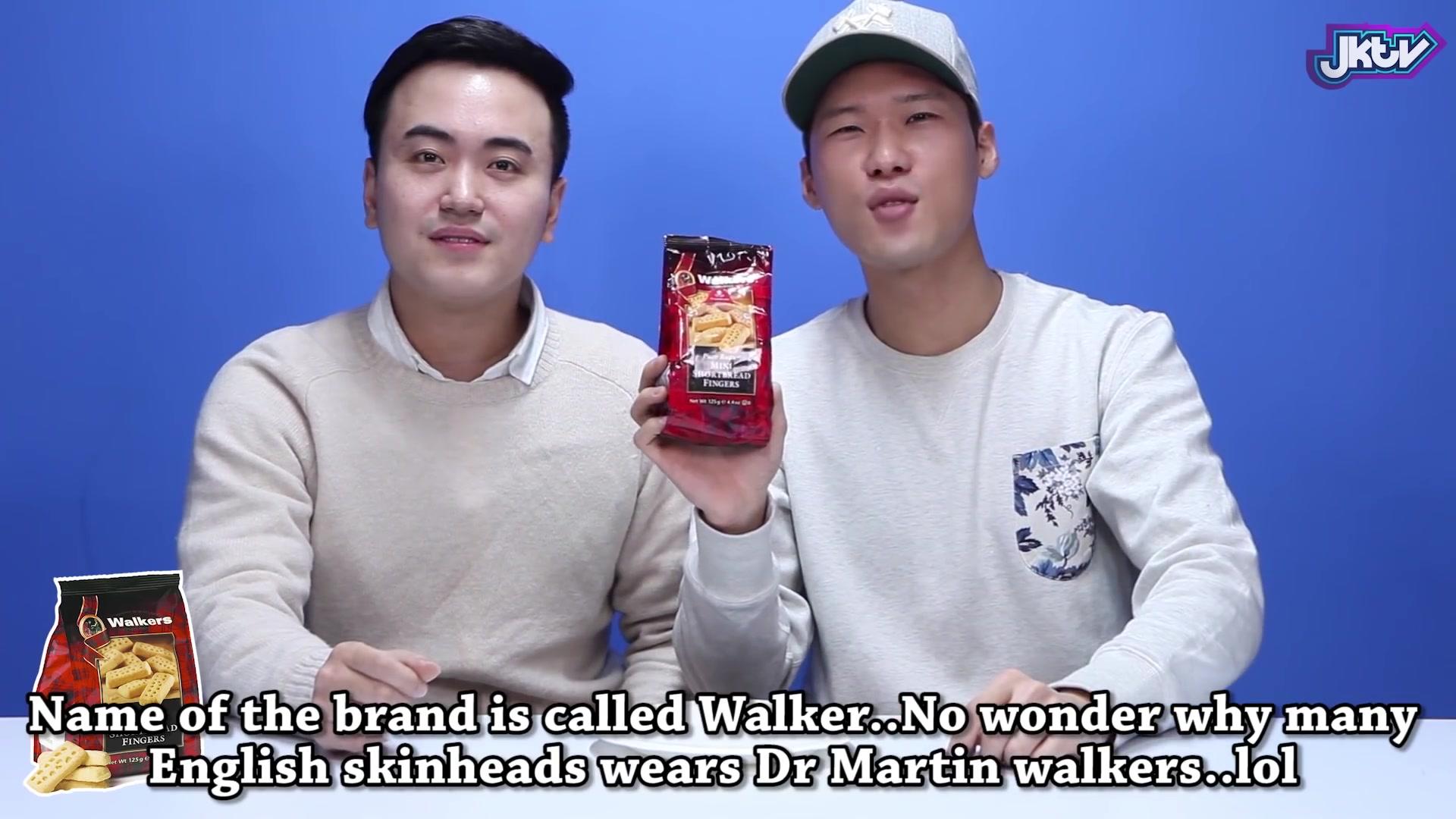 Korean Bros Episode 34: Koreans Taste British Snacks