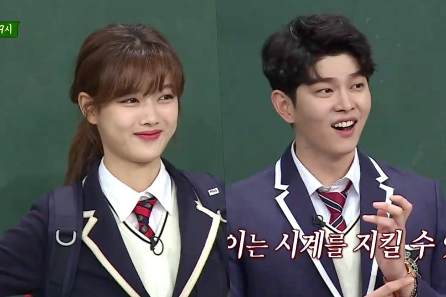 Kim Yoo Jung and Yoon Kyun Sang join 'Knowing Brothers' to promote 'Clean with Passion for Now'