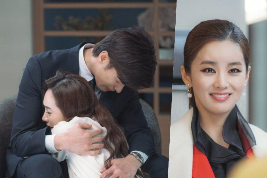 """Sung Hoon And Lee Min Young Have A Tearful Farewell + Lee Ga Ryung Gears Up For Revenge In """"Love (Ft. Marriage And Divorce) 2"""""""