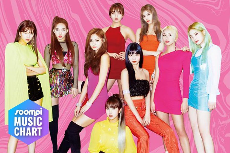 """TWICE Holds Onto No. 1 Spot With """"Fancy""""; Soompi's K-Pop Music Chart 2019, June Week 4"""