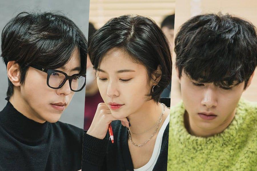 Yoon Hyun Min, Hwang Jung Eum, Seo Ji Hoon y más asisten a la primera lectura de guion de próxima comedia romántica