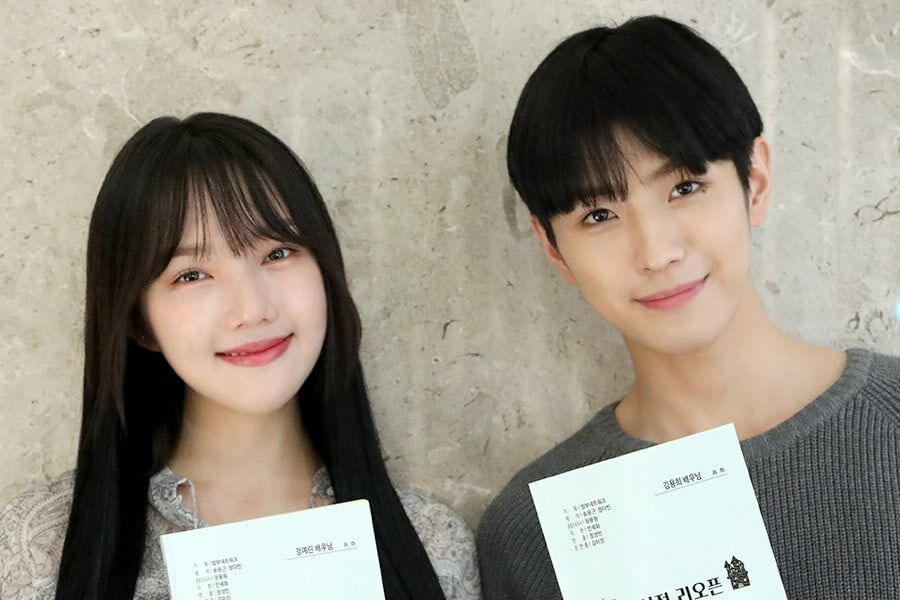 Yerin, CIX's Yonghee, And More Practice For New Fantasy Romance Drama At 1st Script Reading