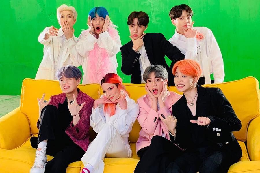 Halsey Gets Fans Excited With Mention Of BTS' Suga On Her Album Track List