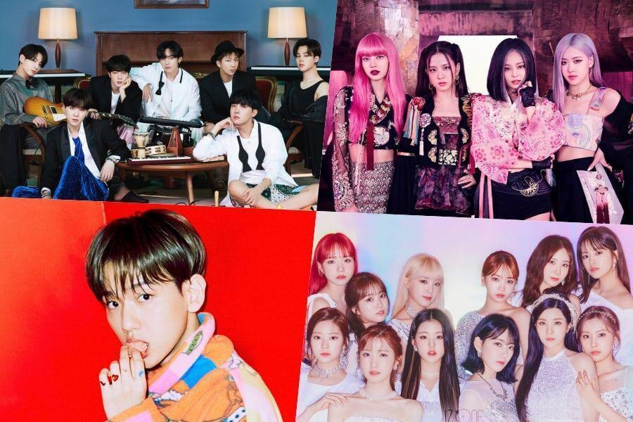 Melon Music Awards 2020 anuncia los ganadores para los 10 mejores artistas