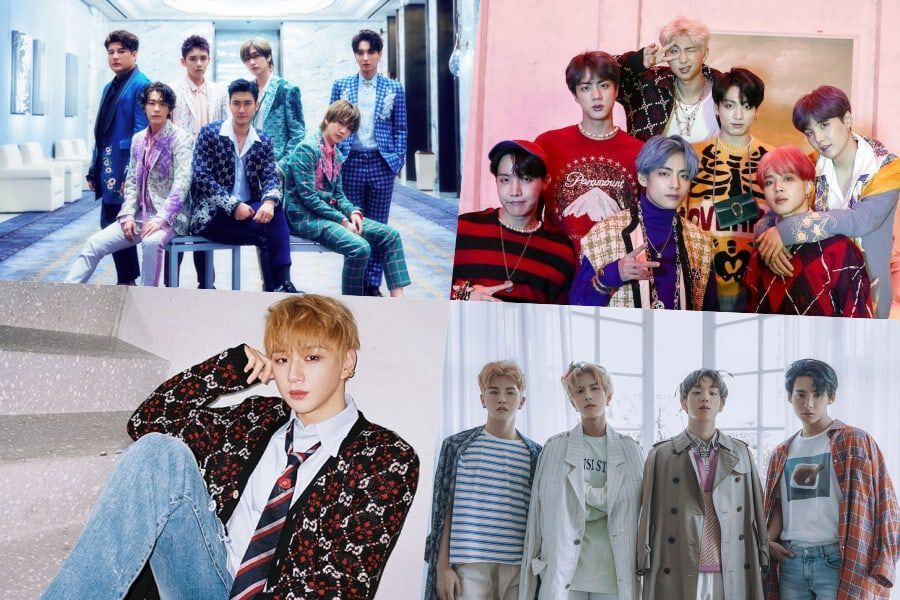 BTS, Super Junior, And More Come Out On Top In The Fact Music Awards' Online Voting