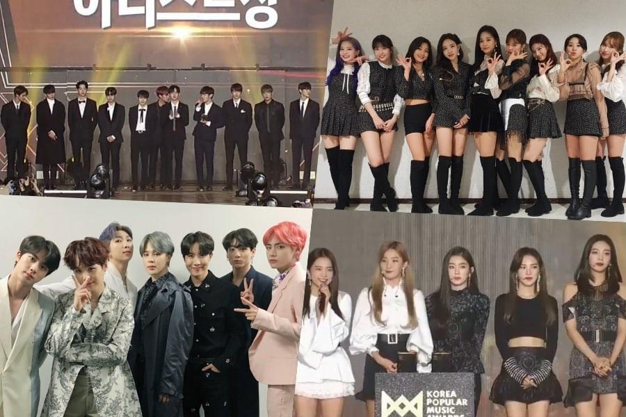 Ganadores de los 2018 Korea Popular Music Awards
